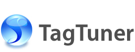 TagTuner mass mp3 tag editor and mp3 organizer logo.