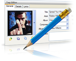 MP3 Tag Editor, Organizer and Renamer  Supports MP3, WMA, OGG, Flac